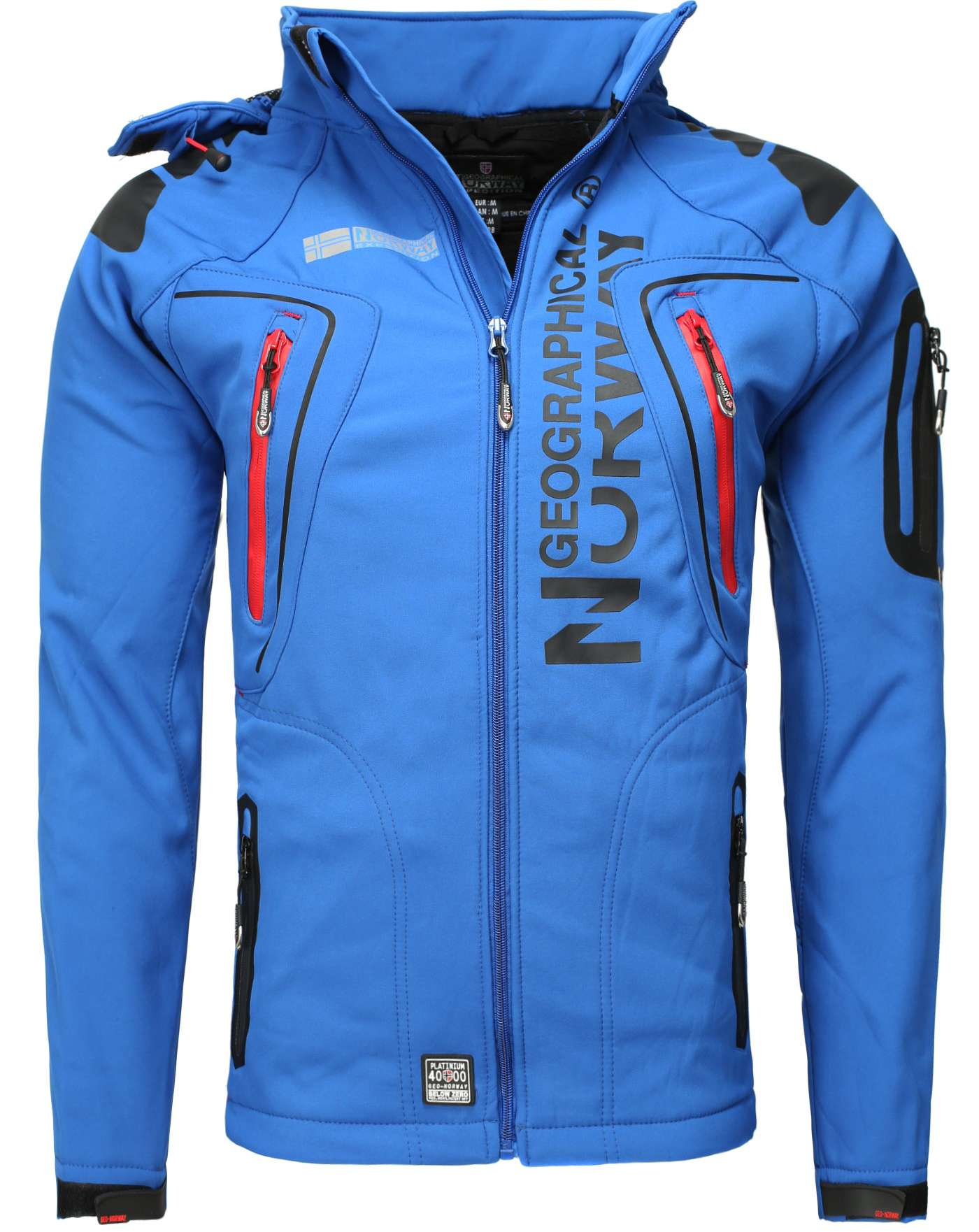 new arrival e4ff8 ead86 GIACCA SOFTSHELL GEOGRAPHICAL NORWAY TANGATA
