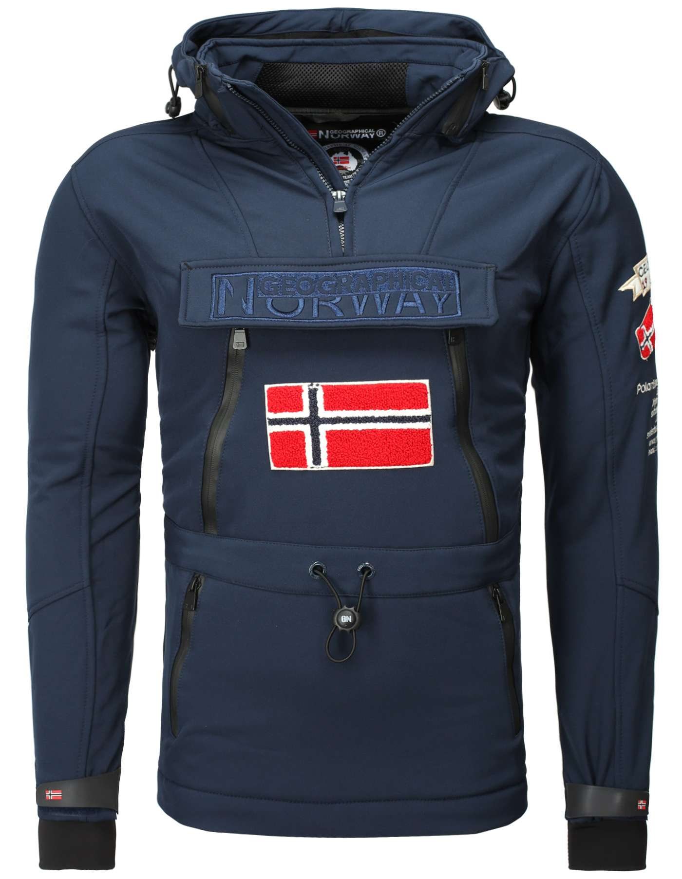 size 40 bde2d 1f44e SOFTSHELL GIACCA GEOGRAPHICAL NORWAY TUILDING