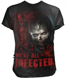 T-Shirt ZOMBIE - ALL INFECTED