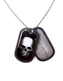 Targhetta Ghost Recon Wildlands - Logo and Skull Dog Tag