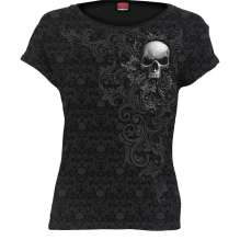 T-shirt da donna SKULL SCROLL