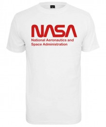 T-shirt NASA Wormlogo