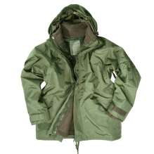 Giacca militare invernale in fleece