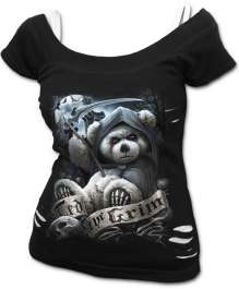 T-shirt donna TED THE GRIM - TEDDY BEAR
