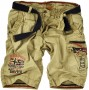 Pantaloni corti uomo Geographical Norway Pacome - Beige